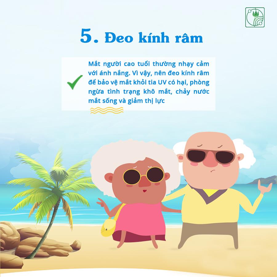 7 LƯU Ý giúp bảo vệ sức khỏe người cao tuổi MÙA NẮNG NÓNG!